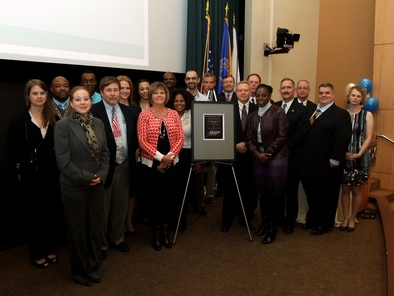 CDC staff at the EMAP Recognition Ceremony