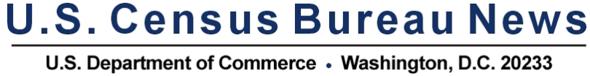U.S. Census Bureau News