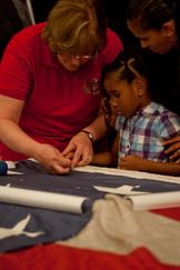 9/11 Flag Photo