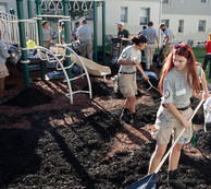 9/11 Day of Service: Volunteers assist with community action