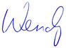 Wendy signature