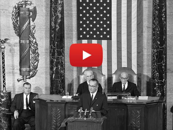 LBJ delivers 1964 State of the Union address