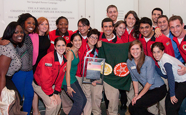 AmeriCorps members with City Year serving at Stanton Elementary School in Washington, D.C.