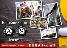Hurricane Katrina 10 Years Leader Photo Montage