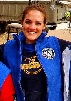 WV Disaster Corps Member Christin Shinaberry