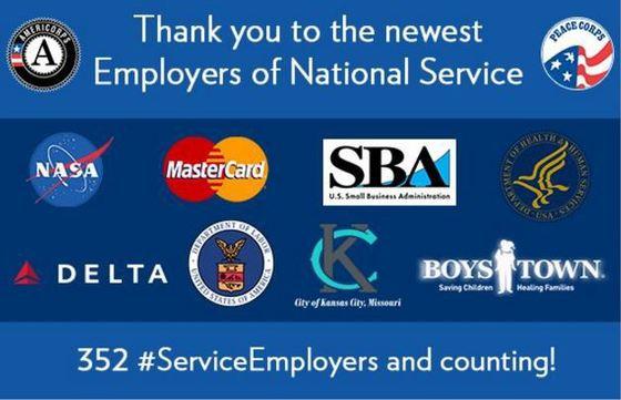 Delta Air Lines, Uber, NASA, and National Service