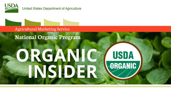 National Organic Program header