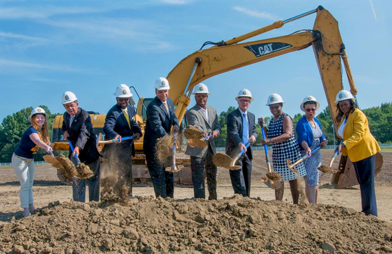 North Carolina A&T break ground on new science pavilion.