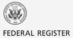 Federal Register graphic