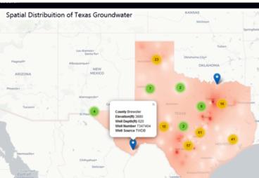 Desktop image of Prairie View A&M groundwater analytics