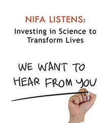NIFA Listens graphic