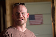 """USDA Invests to Support Military Veterans Pursuing Farming and Ranching Careers. USDA photo of U.S. Navy Veteran Jason """"JT"""" Tucker by Lance Cheung."""
