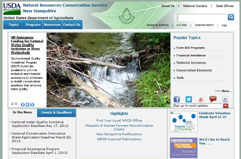 NH NRCS Website