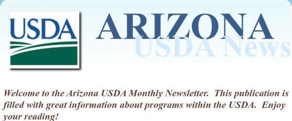 AZ USDA Newsletter 2013