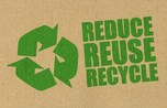Reduce, reuse, recycle graphic