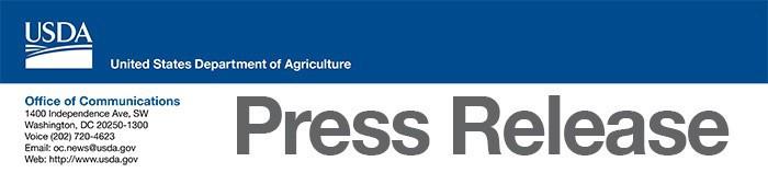 USDA News Release Header