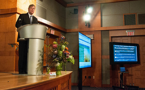 Secretary Vilsack G-8 Open Data for Agriculture