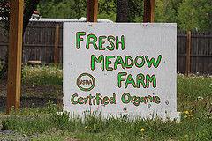 Fresh Meadow Farm sign