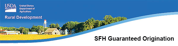 SFH Guaranteed Origination