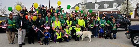 CERT volunteers at New Lenox Loyalty Parade