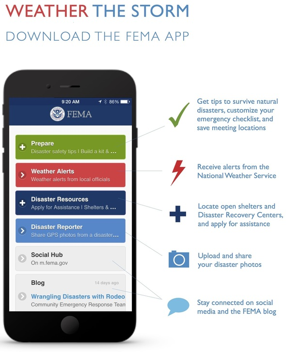 FEMA Launches Weather Alerts Function to FEMA App