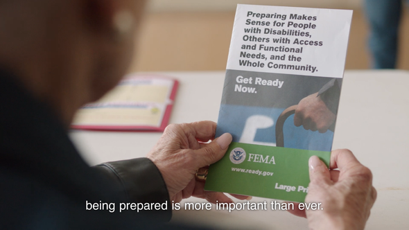 FEMA, Ad Council Launch New PSA Focused on People with Disabilities Preparing for Emergencies