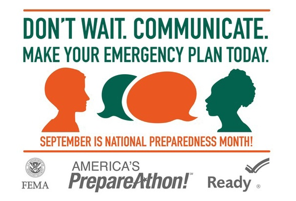 National Preparedness Month Logo