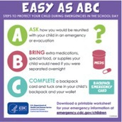 Easy as ABC: Steps to Protect Your Child During Emergencies in the School Day
