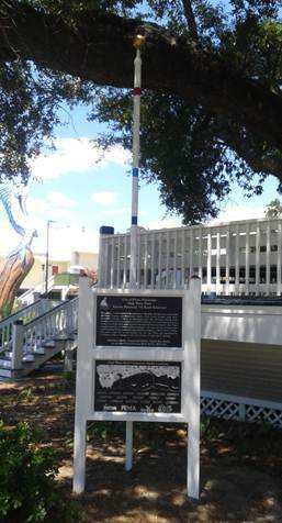 A High Water Mark in Biloxi, Mississippi