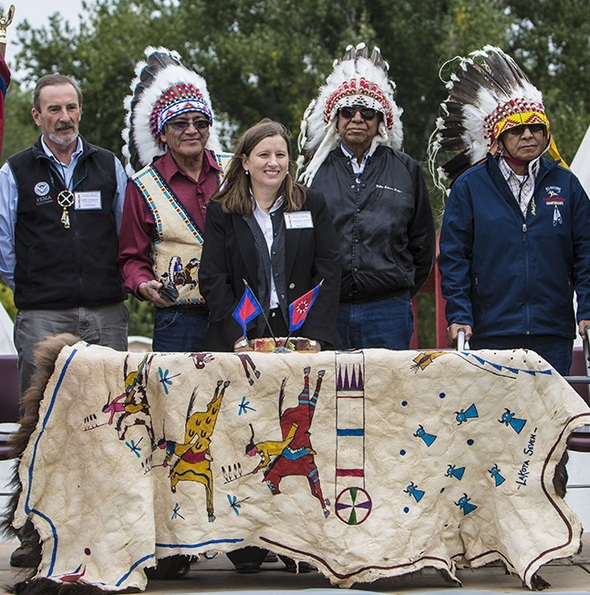 Signing Ceremony Highlights First Tribal Individual Assistance Declaration
