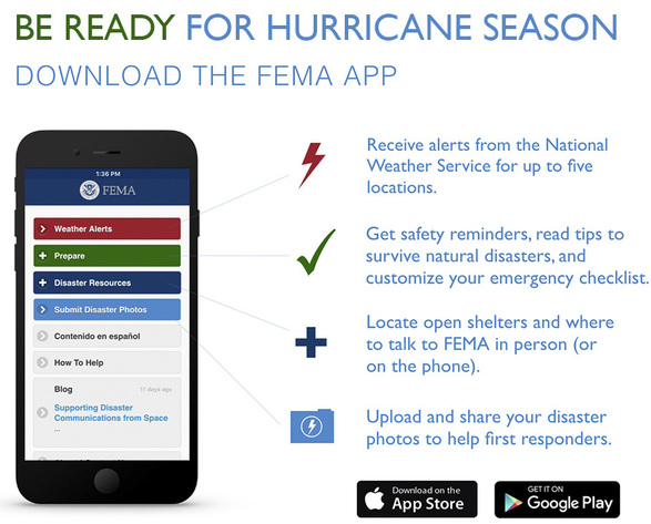 Download the FEMA App