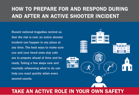Seeking information on how to prepare for a respond during man made incidents like active shooter? Please visit www.fema.gov/faith-resources for info