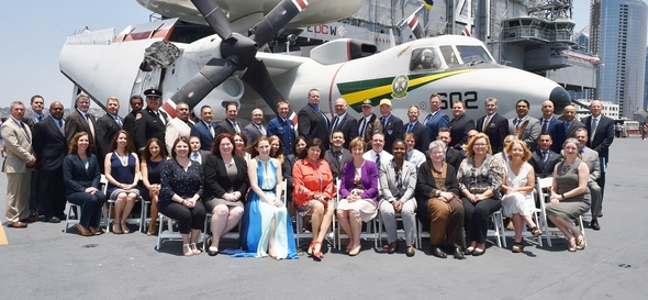 California Cohort of the National Emergency Management Advanced Academy graduates.