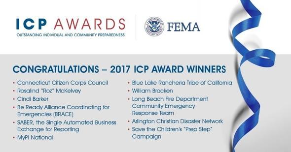 List of ICP award winners.