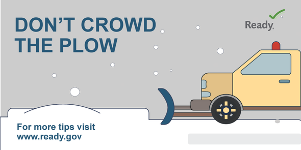 Don't crowd the plow.