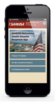 Access critical, disaster-related behavioral health resources right from your phone with the SAMHSA Disaster App