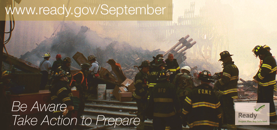 Be Aware Take Action to Prepare for Public Safety Officials