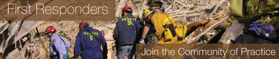 First Responders: Join the Community of Practice