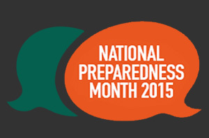 national preparedness month banner image