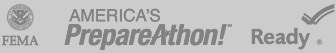 fema, americas prepareathon, ready footer logos