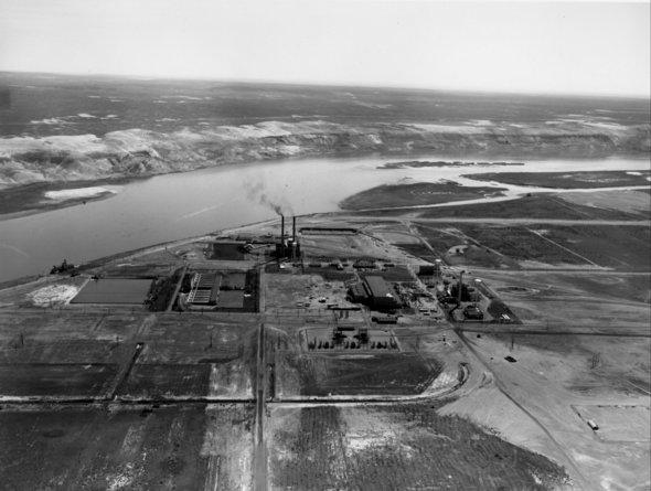 F Area 1956