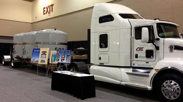 WIPP Truck