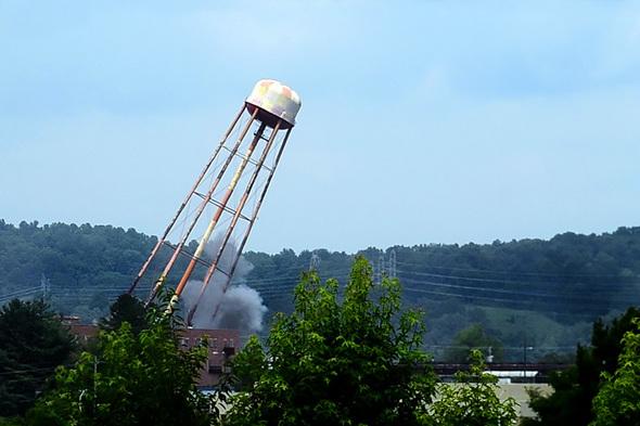 Oak Ridge Water Tower Demolition : Em update vol issue august