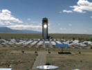 The Solar Tower at Sandia's NSTTF.