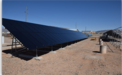 Stion PV installation at New Mexico RTC
