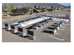Prism Solar's Bifacial PV installation at Sandia's New Mexico RTC