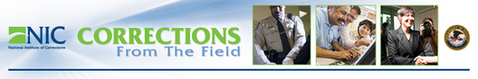 NIC Newsletter Banner: Corrections From the Field