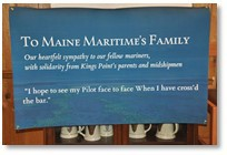 Message to Maine Maritime