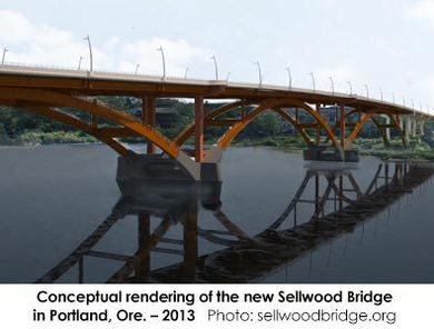 Sellwood Bridge, Portland, Ore. – 2013