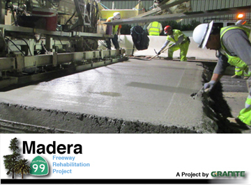 State Route 99 Madera design-build project
